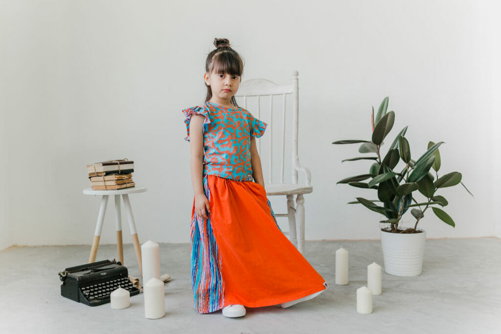 Roses & Rhinos use organic cotton for modern cool kids clothes