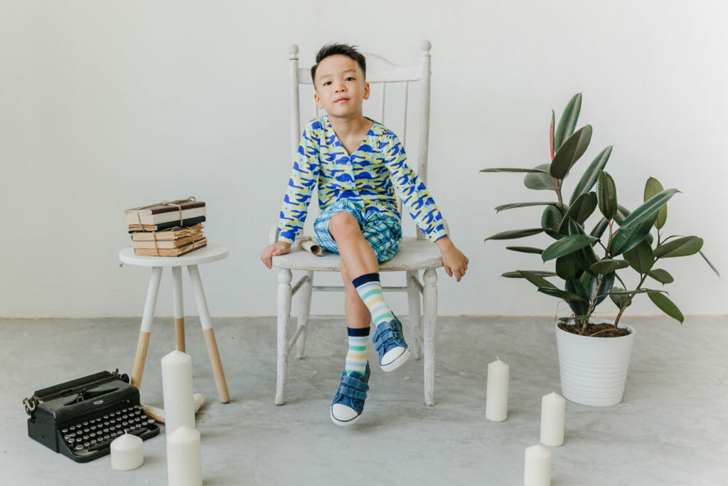 Bold prints are the signature style at Roses & Rhinos for SS19 kidswear