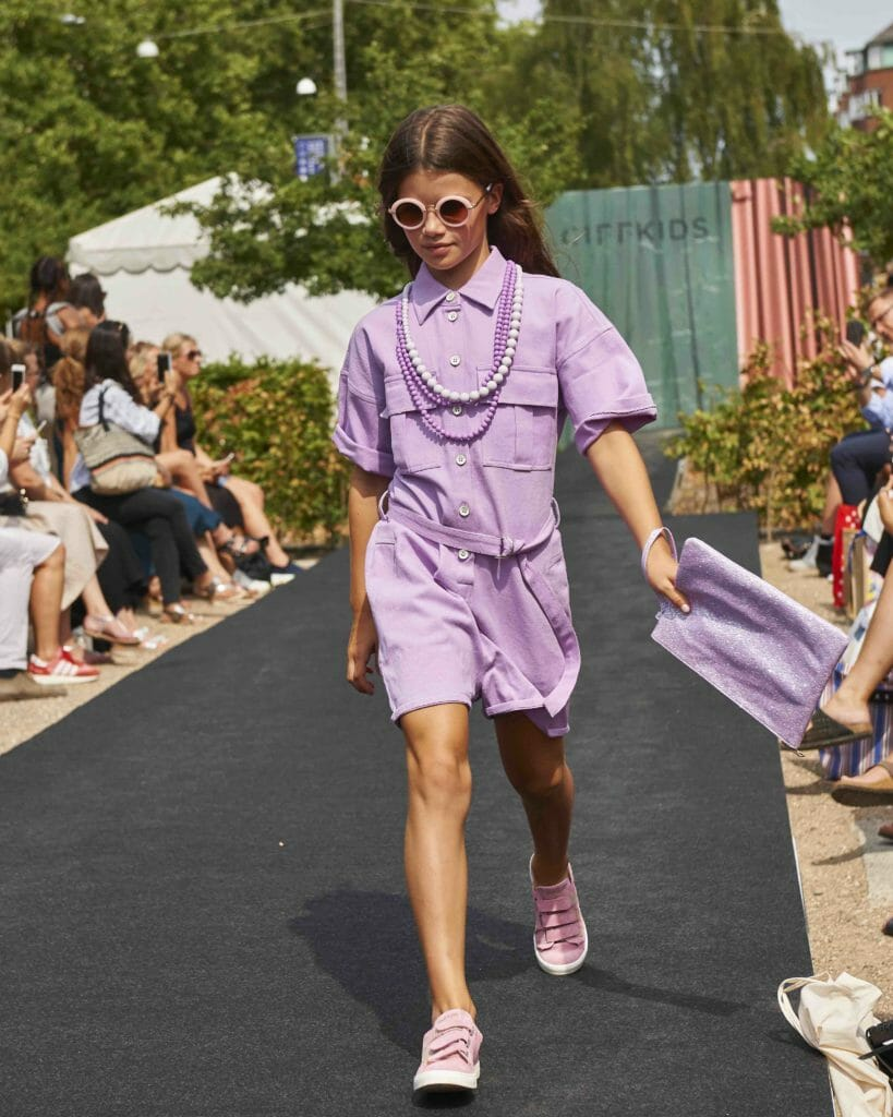 Lilac Jumpsuit - Grunt, Bag – Milk & Soda, Necklaces - Lollipop, Shoes – Angulus, Sunglasses – Milk & Soda