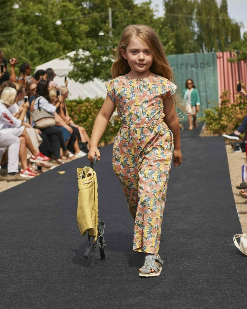 Jumpsuit – Serendipity, Sandals - Melania at Ciff Kids fashion runway for SS19