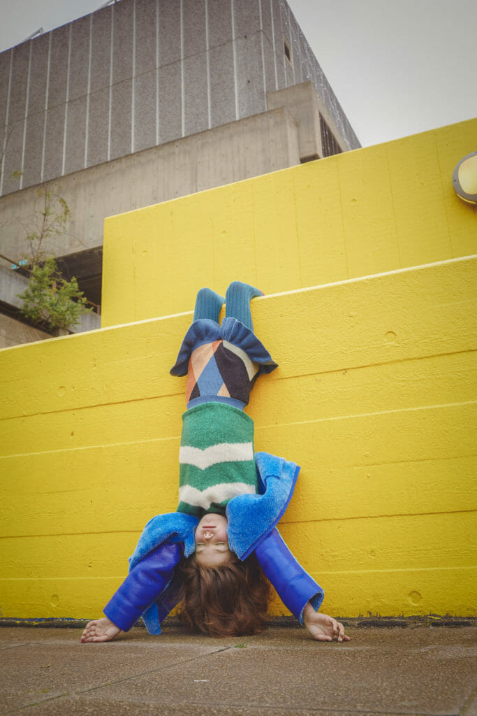 Topsy Turvy fashion looks styled by Kate Van Der Hage for kids fashion autumn 2018