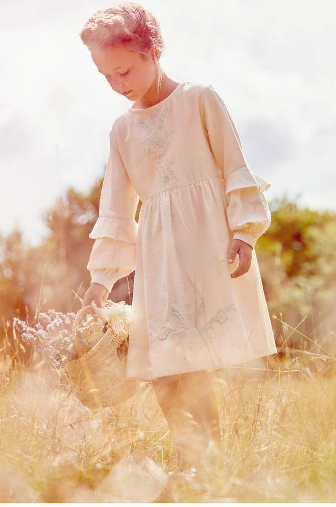 Boho kids fashion Their Nibs celebrates their 15th anniversay this year with vintage and folk inspired style for kidswear