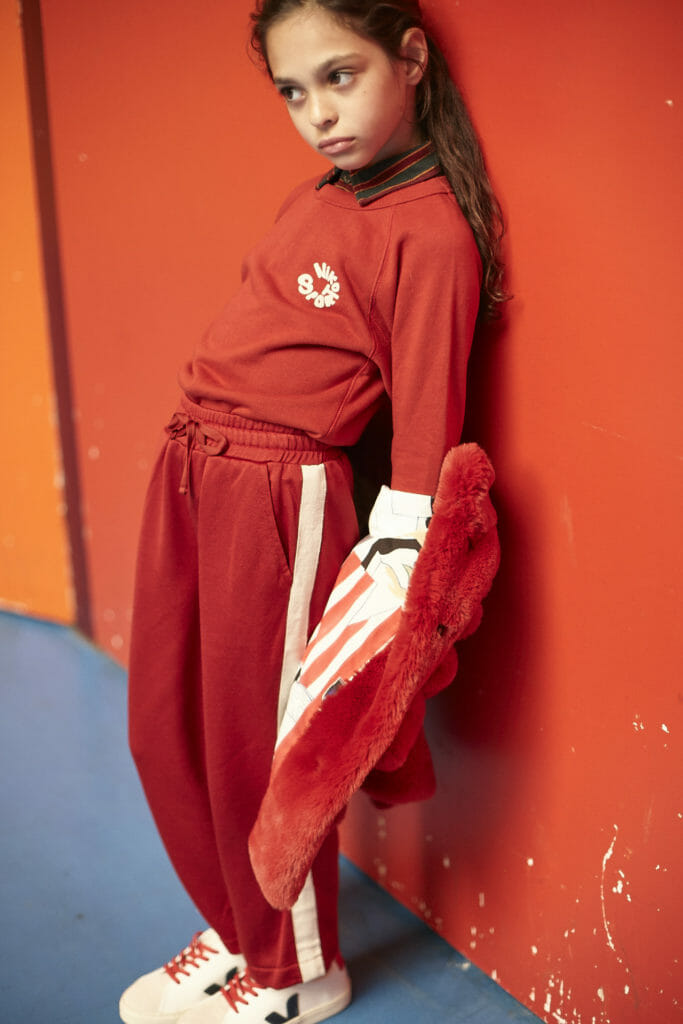 Active wear at Bellerose kids fashion for fall 2018