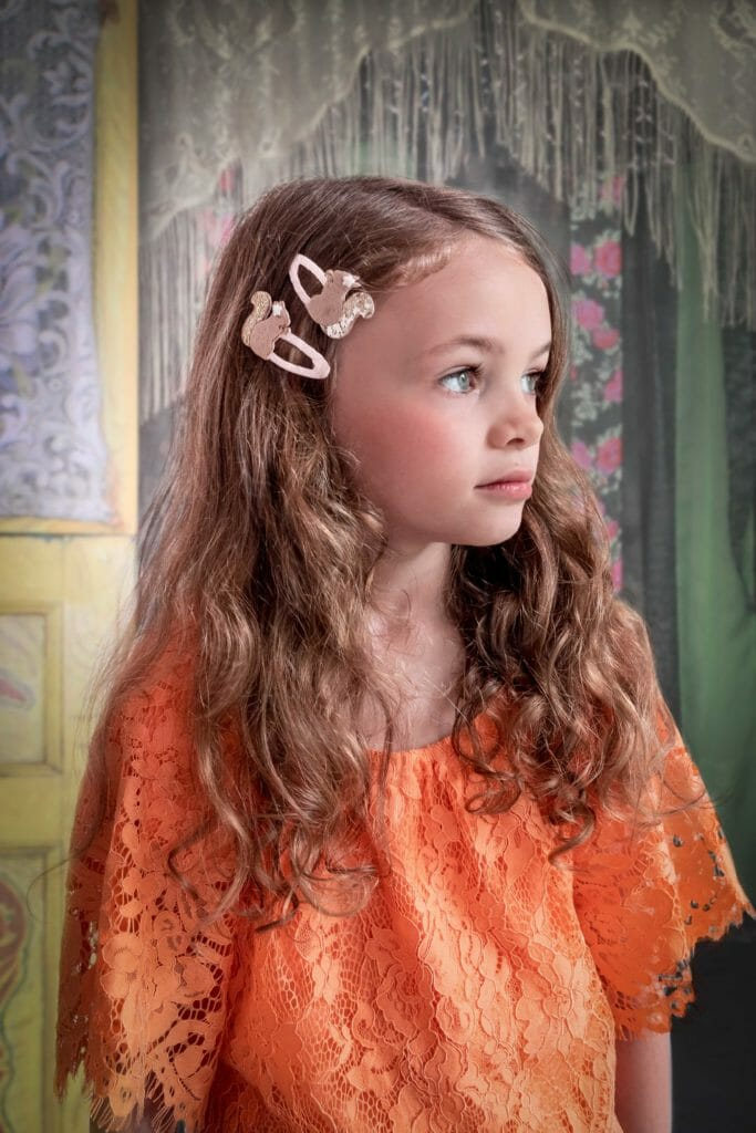 Woodland inspired clips at Rockahula Kids fall 2018 accessories