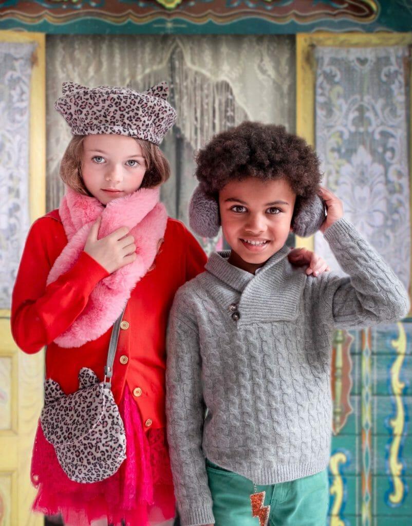 Faux fur winter accessories from Rockahula Kids