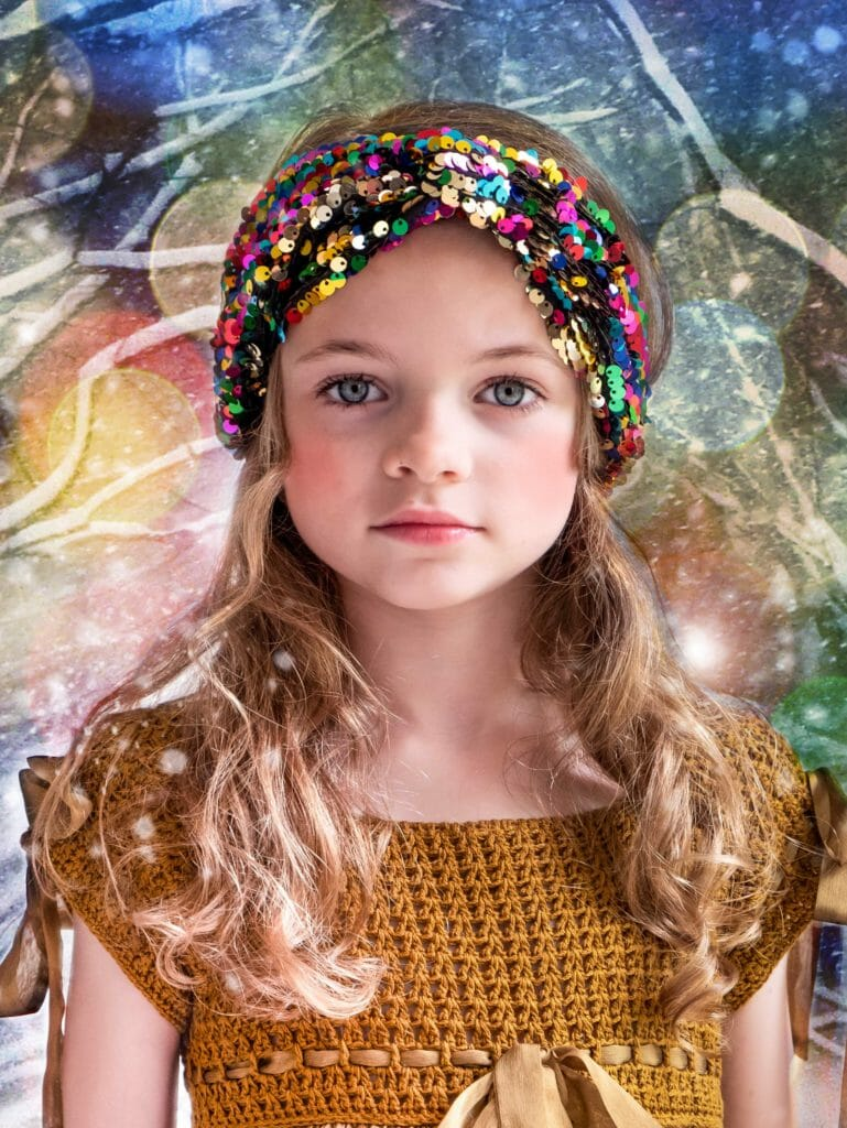 Party sequin hairband at Rockahula Kids Holiday 2018