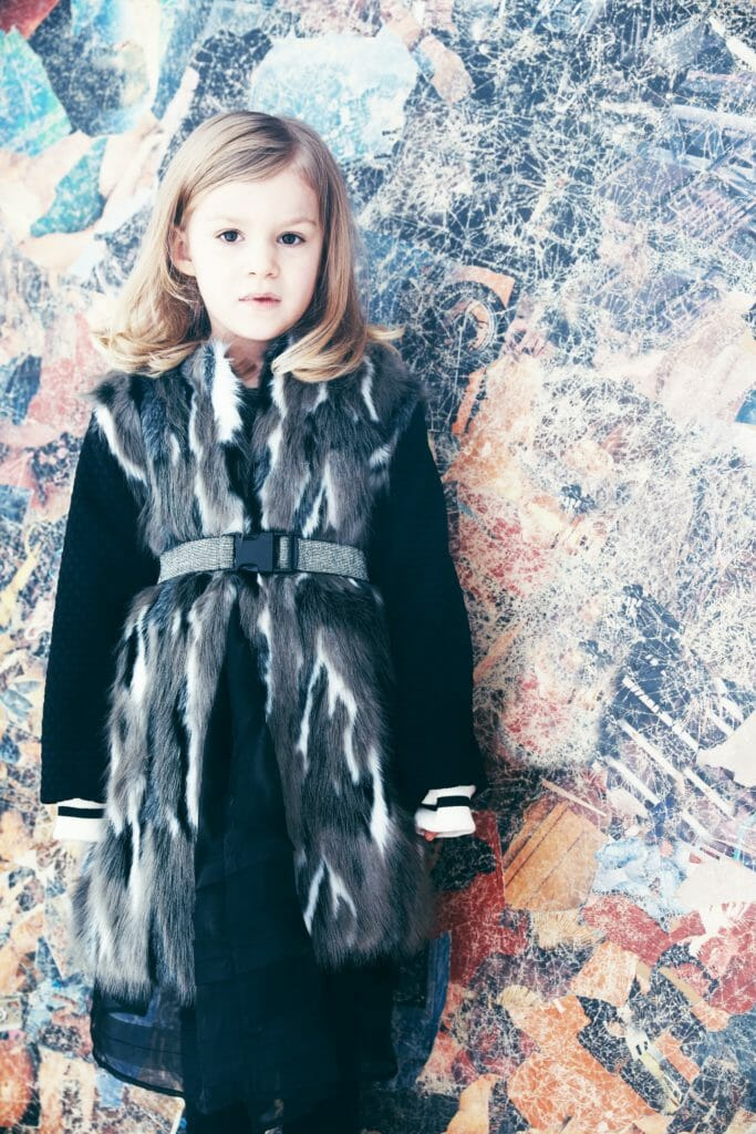 Winter warmer jerkin by Iglo+Indi kids fashion for fall/winter 2018