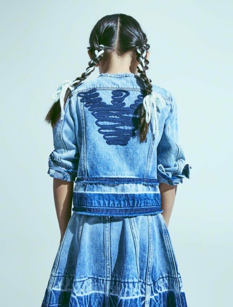 Special denim pieces from Emporio Armani kids fashion