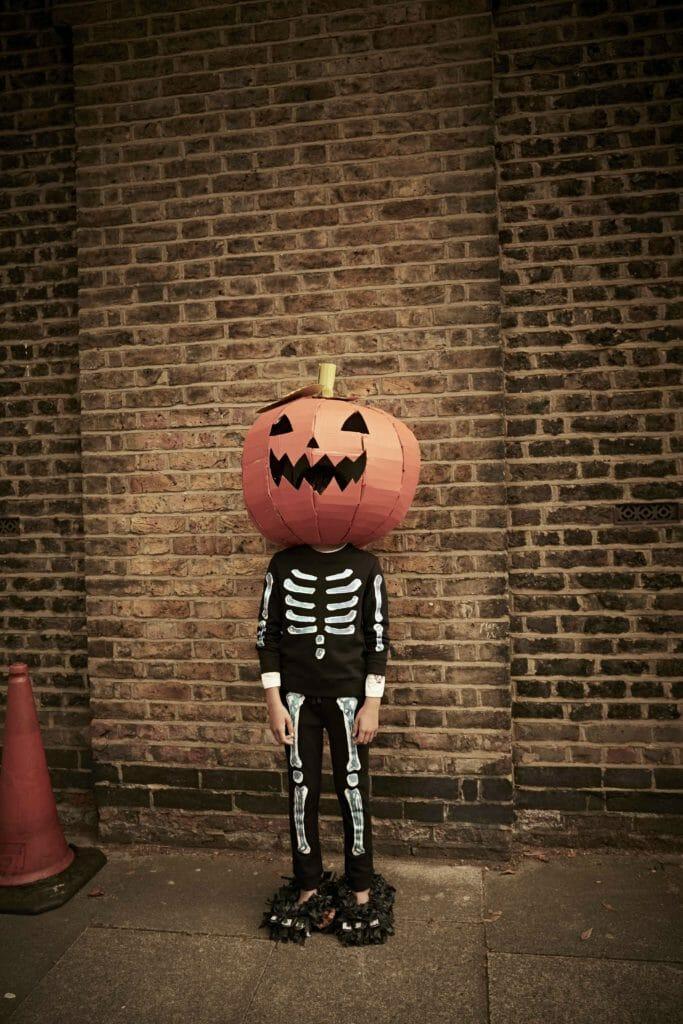 Halloween dress up skeleton from Stella McCartney