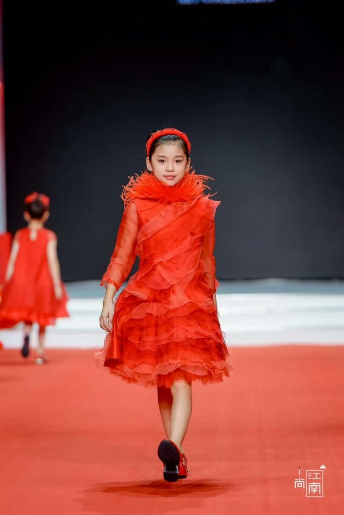 Kids fashion in China, a special collection by Stefano Cavalleri