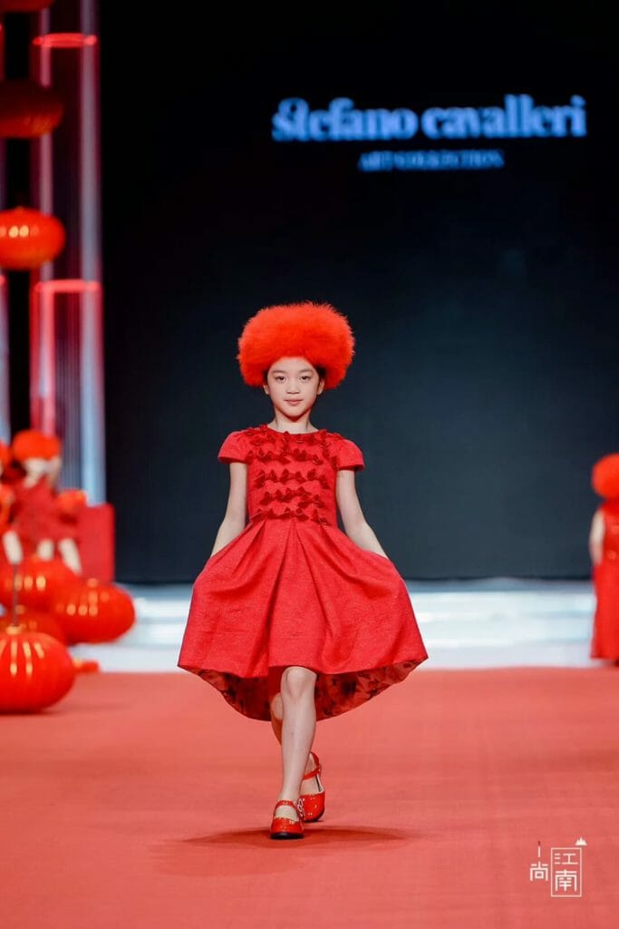 Touches of luxury for kids fashion in China by Stefano Cavalleri