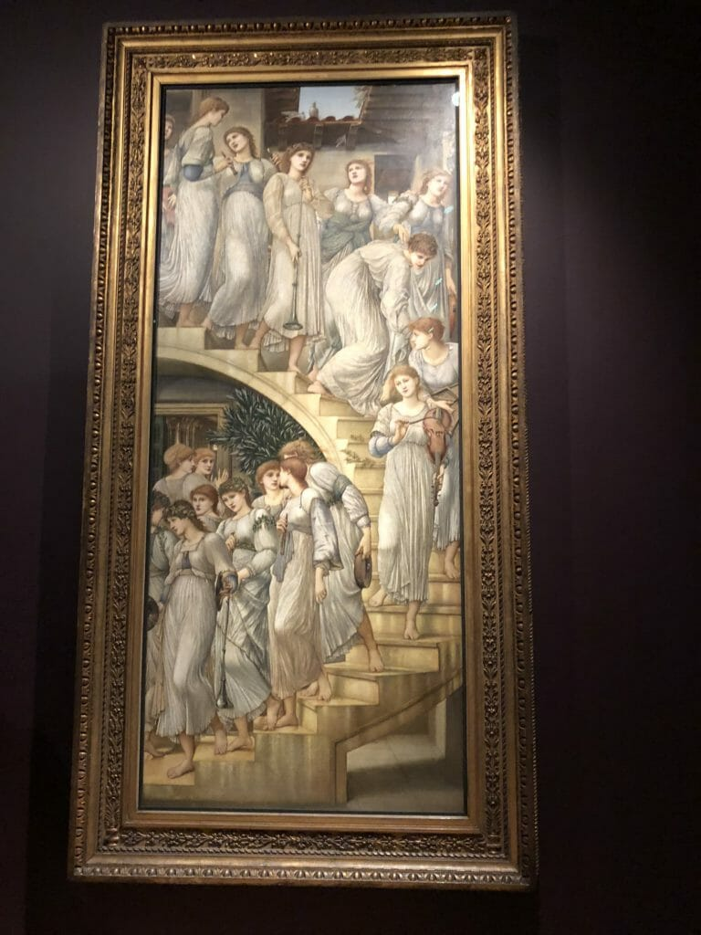 I loved The Golden Stairs, the Guardian reviewer hated it, Oh well! At Tate Britain from 24th Oct Burne-Jones