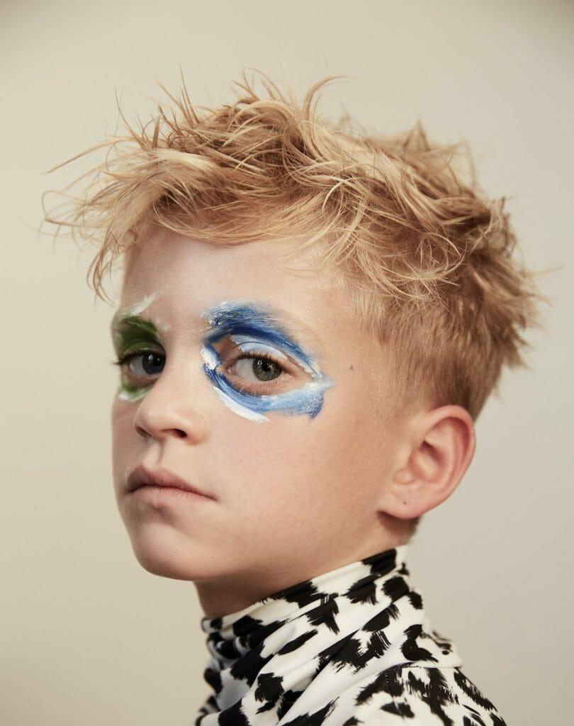 Modern kids portraits by Ulla Nyeman for Hooligans magazine