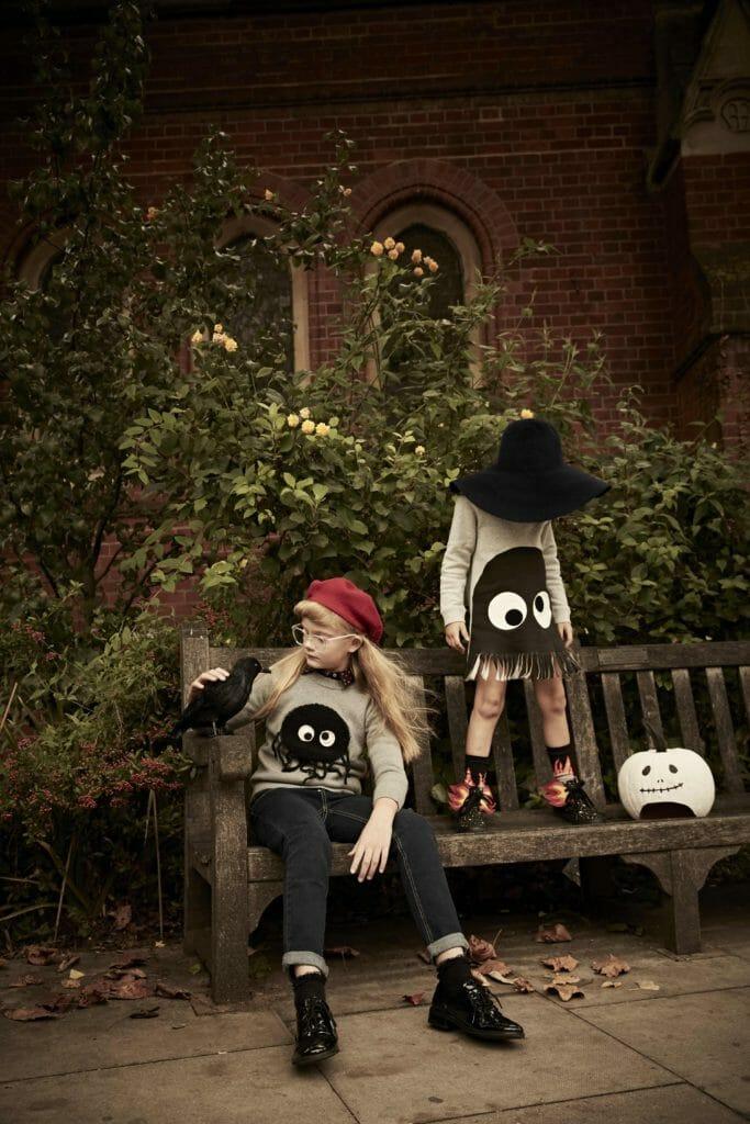 The Halloween kids collection for Stella McCartney kidswear fall/winter 2018
