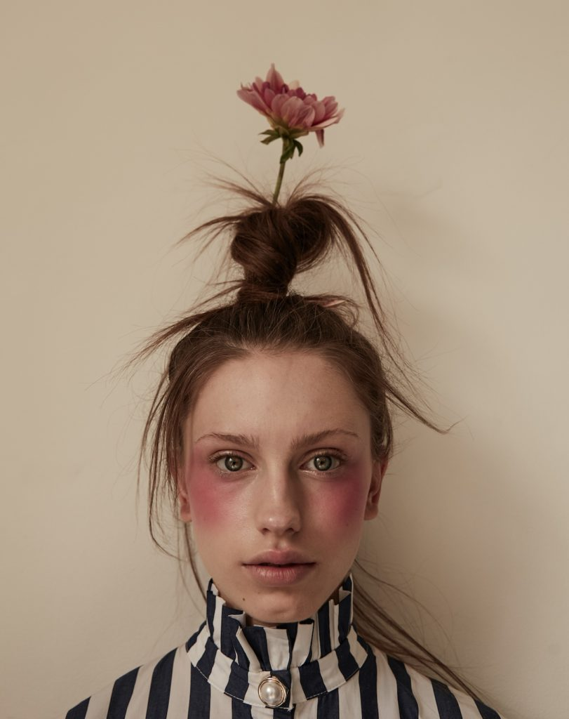 Striking kid and tween portraits by Ulla Nyeman from the new edition of Hooligans magazine
