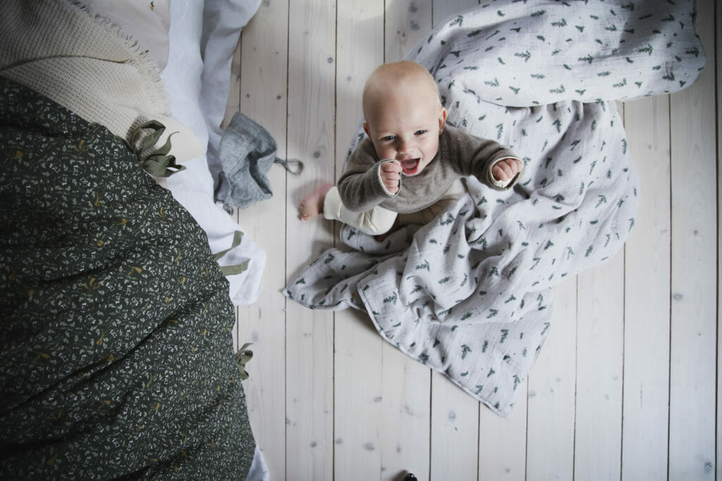 Great baby shots from Garbo & Friends for winter 2018