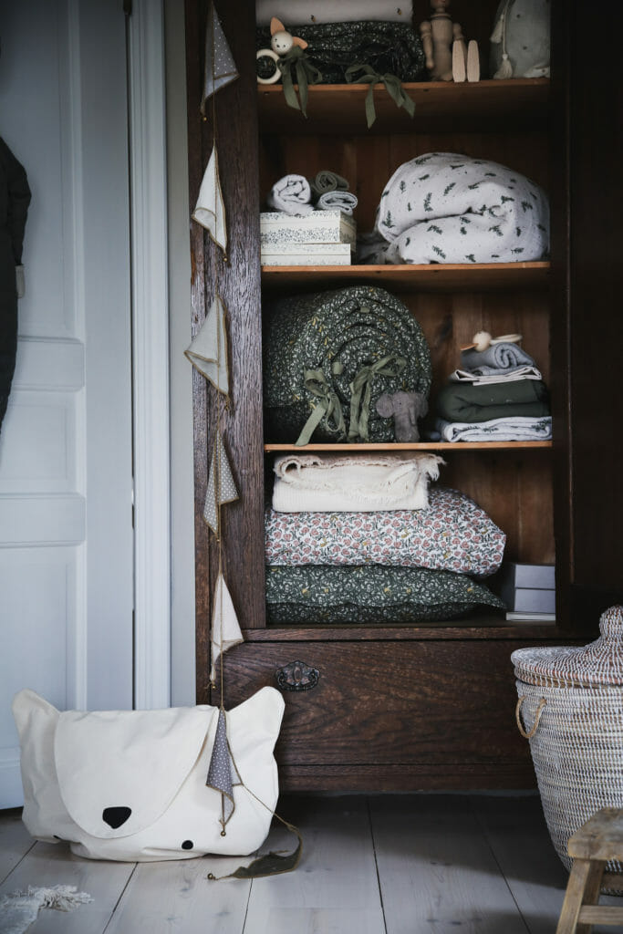 Nordic cool interiors from Garbo & Friends for nursery winters
