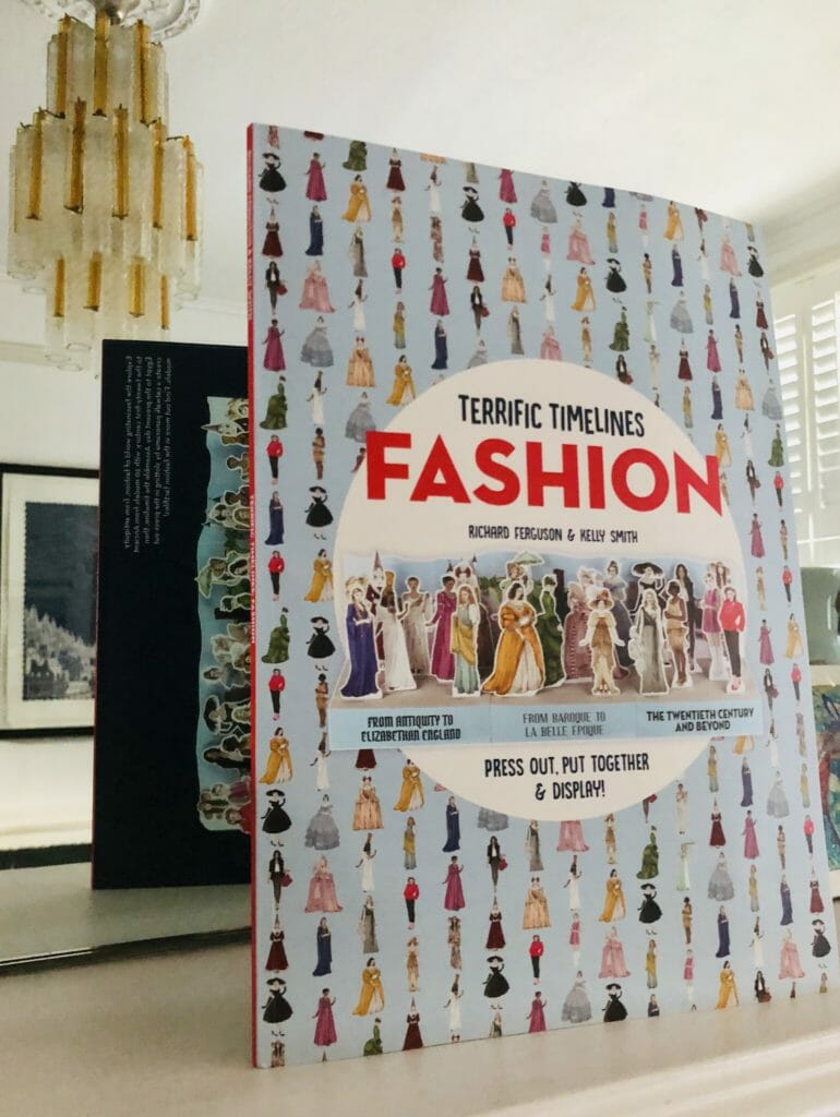 Terrific Timelines Fashion by Lawrence King for Xmas gifts 2018