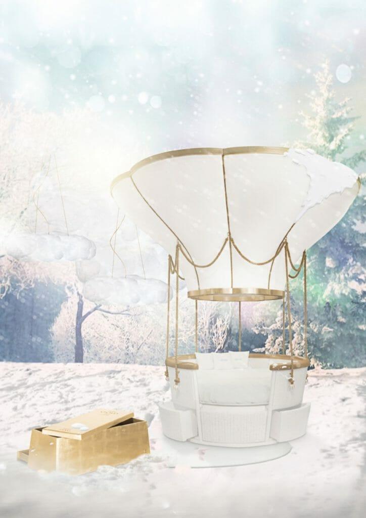 Fantasy balloon ride seating by Circu Collection winter 2018