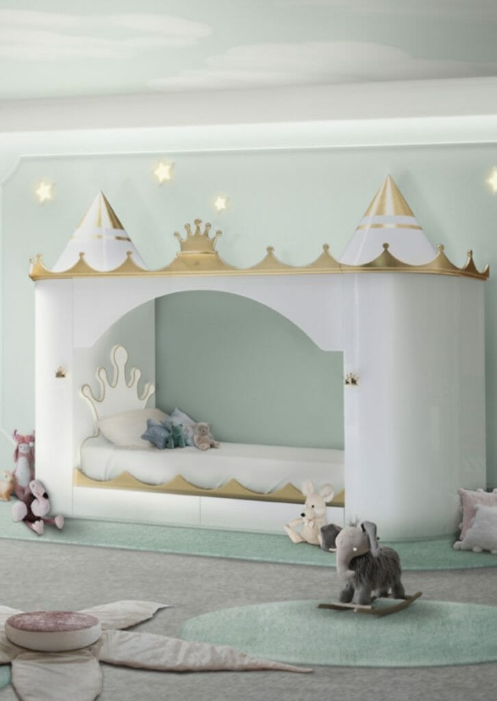 Fantasy castle bed by Circu Collection from Portugal