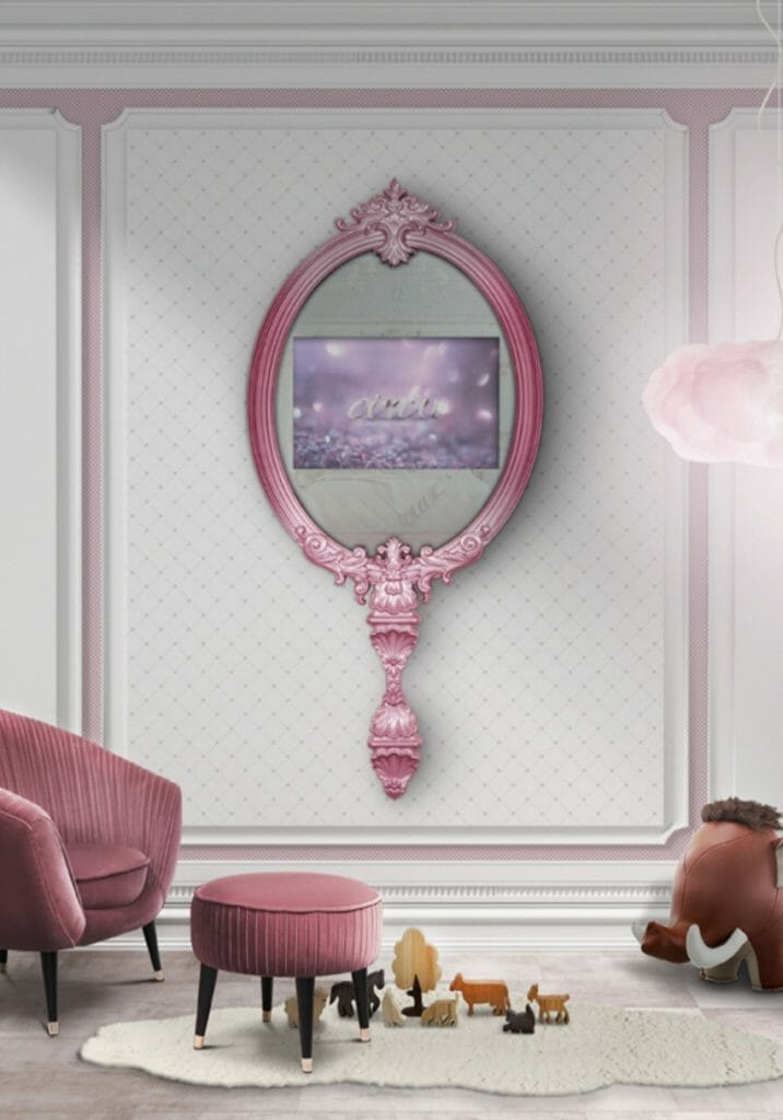 Giant Princess magical mirror by Circu Collection for fairytale dreams
