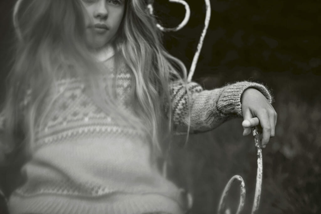 Winter knits for kids in Luna Magazine