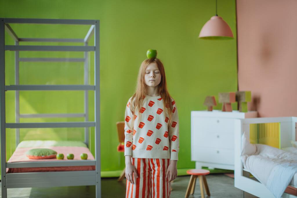 Last of winter 2018 kids fashion, a stylish shoot by Dasha Pears