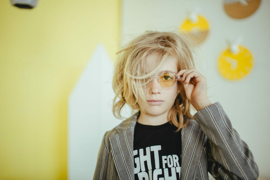 Colour concept kids fashion and interiors shoot from Russia by Dasha Pears