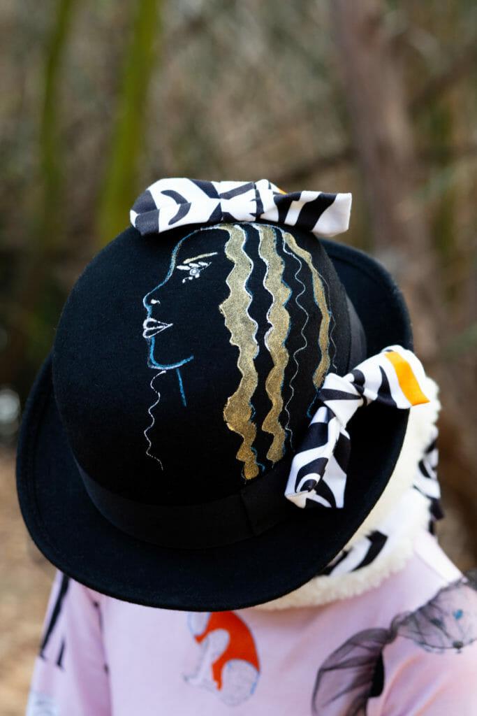Surrealist hat from EFVVA for kidswear fall/winter 2019 sneak peek