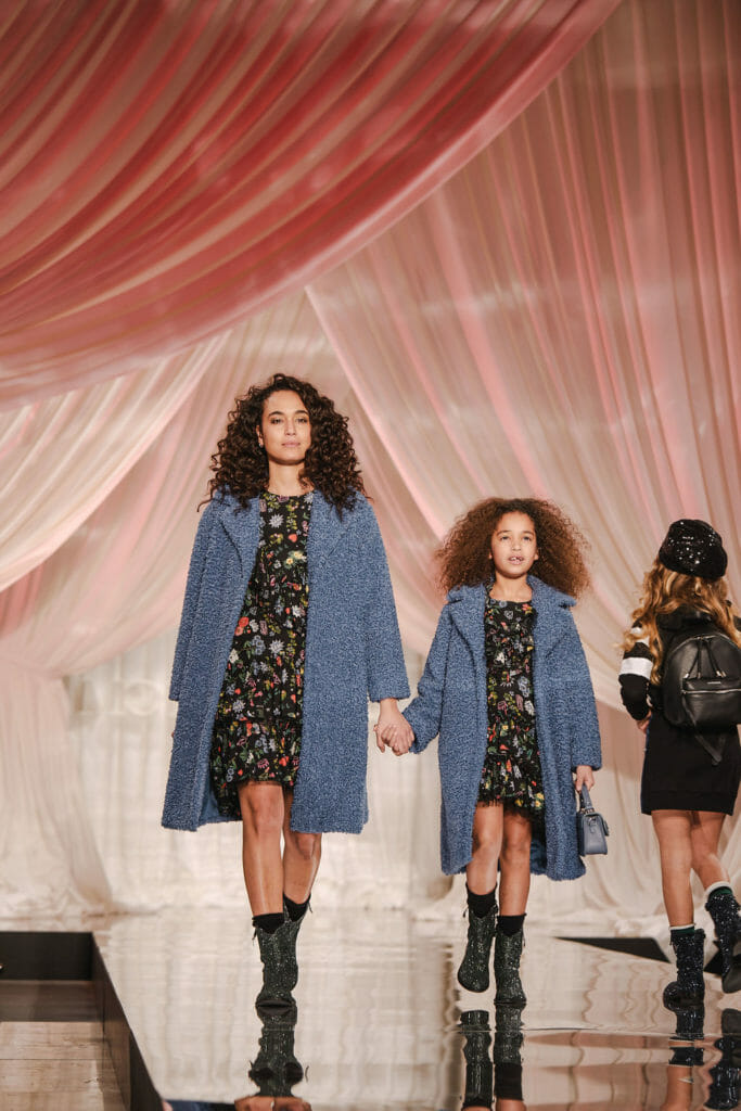 Mini Me styles were introduced to the Monnalisa collection last summer