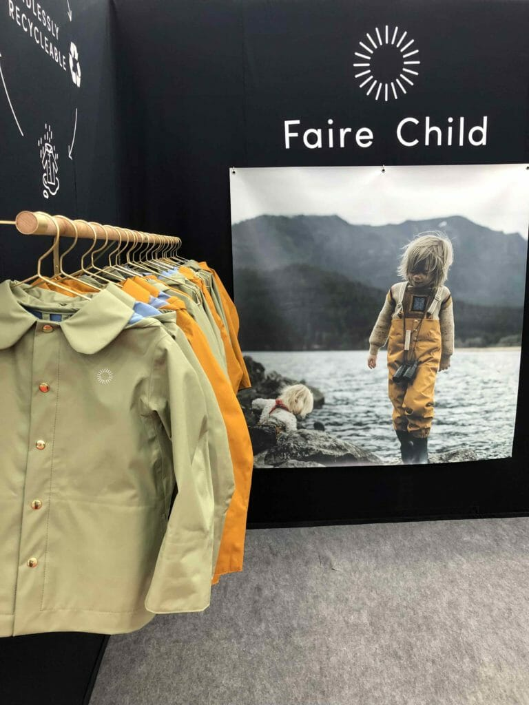 Faire Child is a new Canadian ethical brand that works a lot with influencers for its natural photography and eco friendly sustainable product