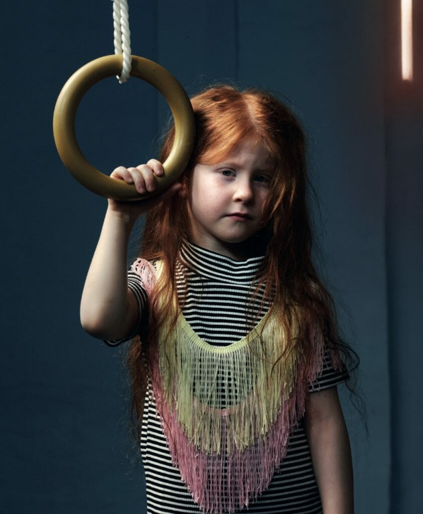 Fringing is a key kids fashion trend for spring 2019