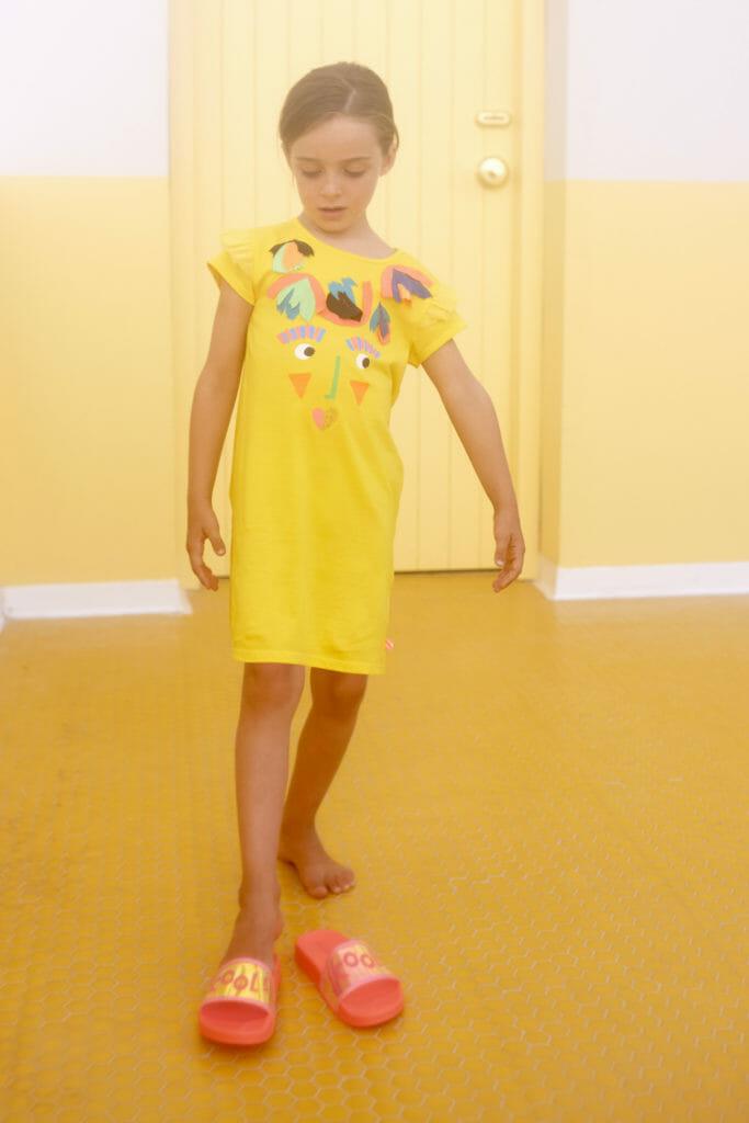 Quirky yellow vacation dress by Billieblush at Melijoe.com
