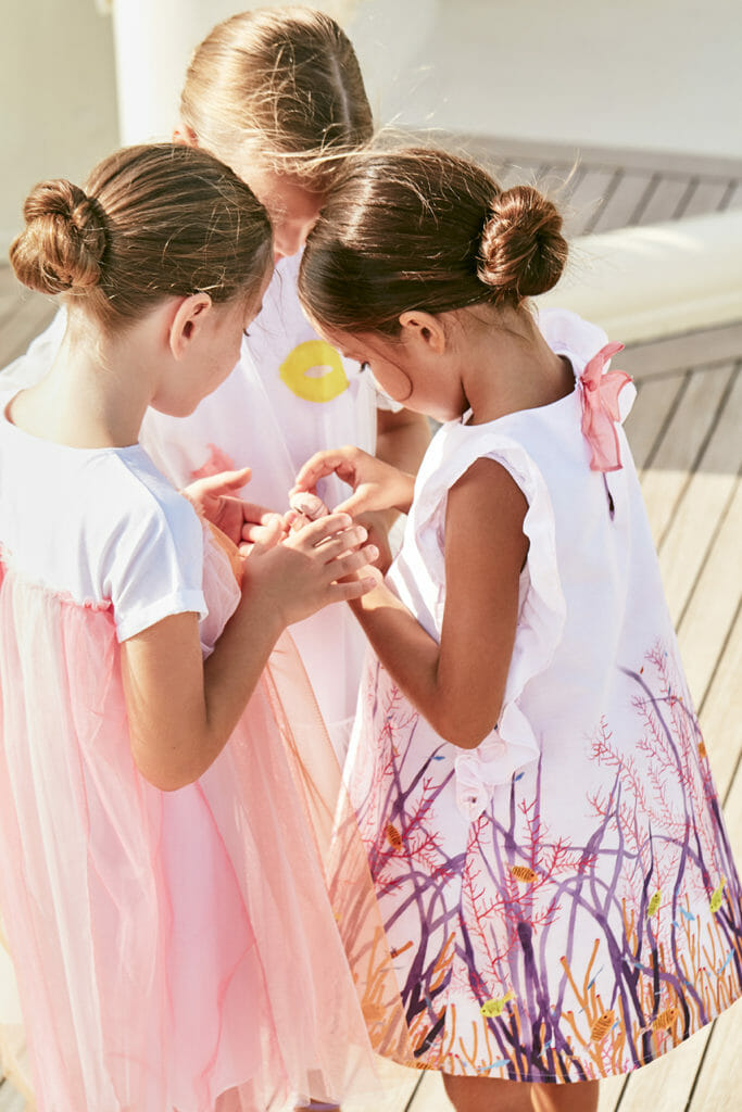 Beautiful Under the Sea dresses by Il Gufo from Melijoe for summer 2019
