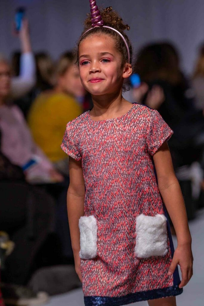 Mini Mode kids catwalk fashion from Angel & Rocket photo Rita Askark