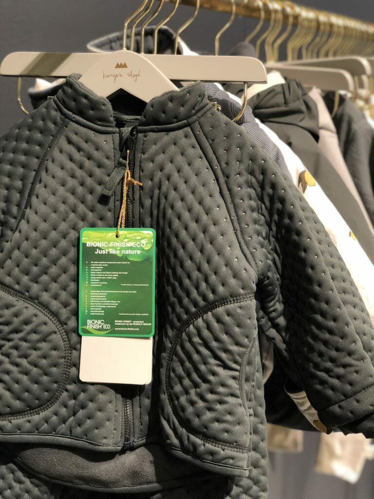 New technology for outerwear at Konges Slojd for their baby to kids collection