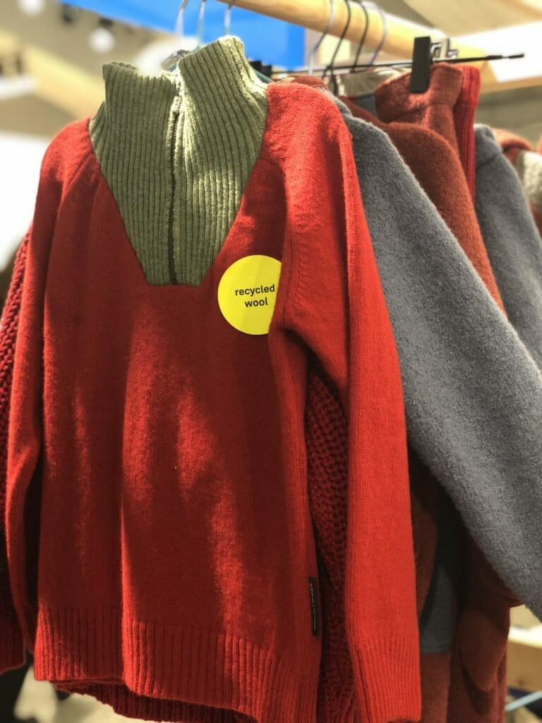 Recycled wool and organic wool and cotton from German label Manitober
