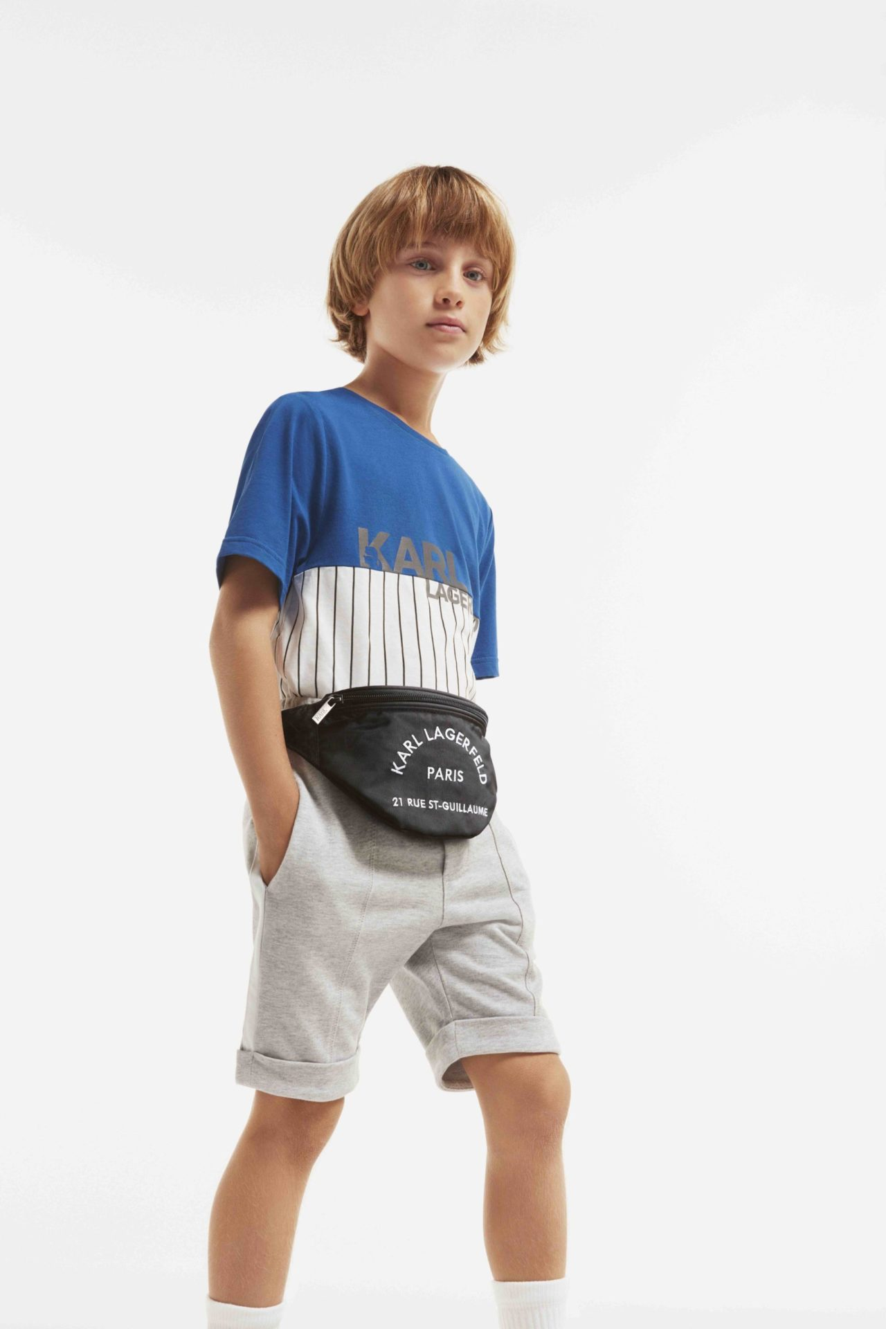 Easy to wear sports styling at Karl Lagerfeld childrenswear