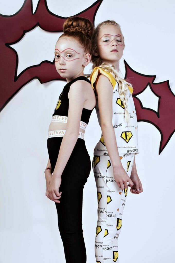 Girls active wear fashion at EFVVA for summer 2019