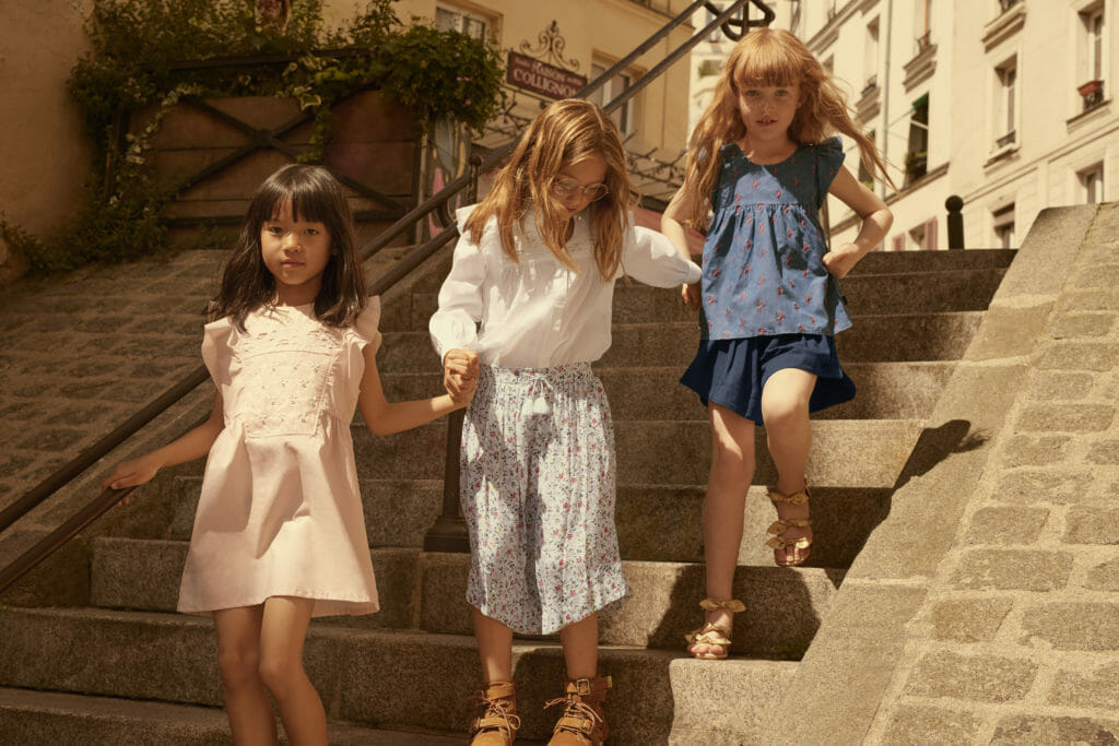 Chloe kidswear available for summer 2019