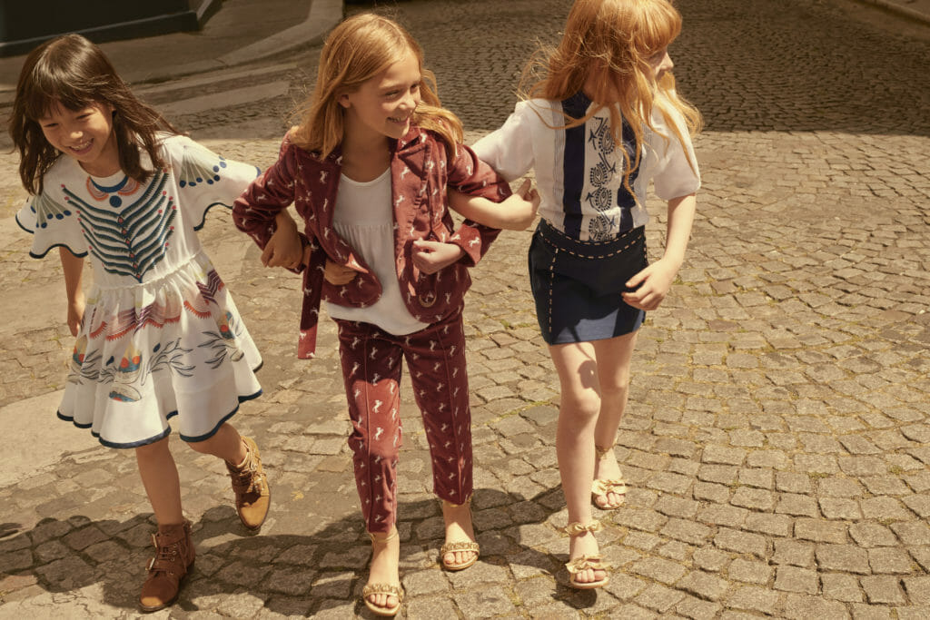 Mini Me pieces from Chloe for girls fashion SS19