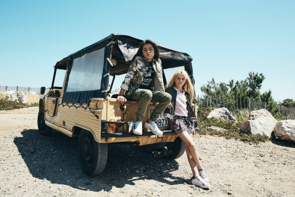 Zadig et Voltaire kids road trip fashion for spring/summer 2019