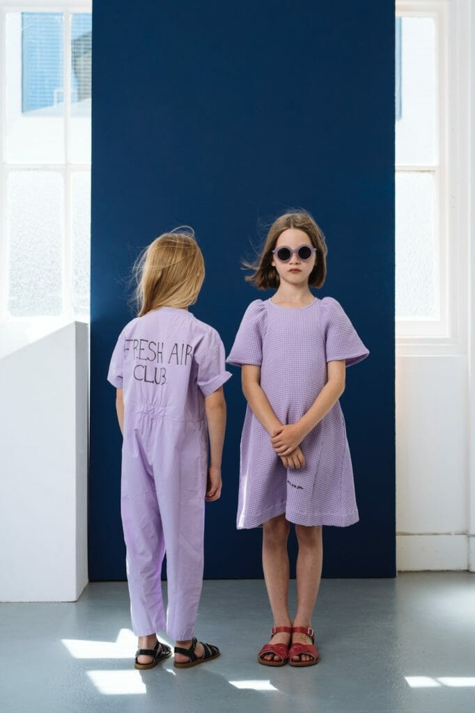 Modern styling and easy to wear kidswear at Beau Loves
