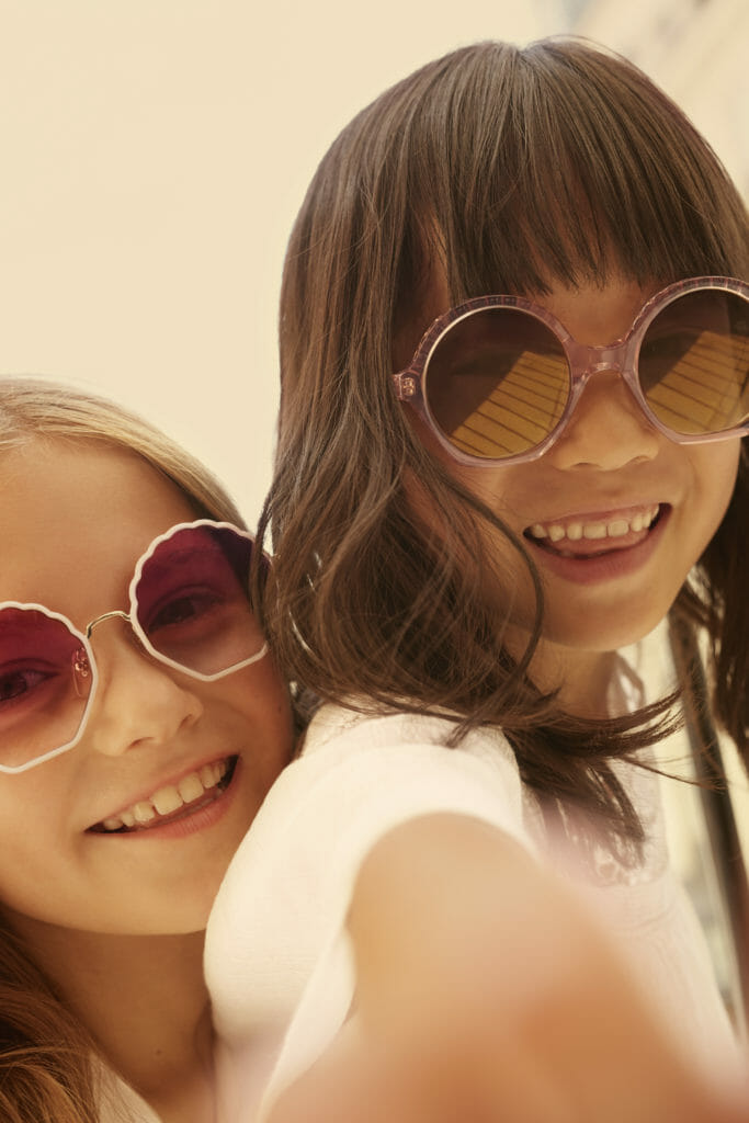 The Chloe kids collection also features some very cool sunglasses