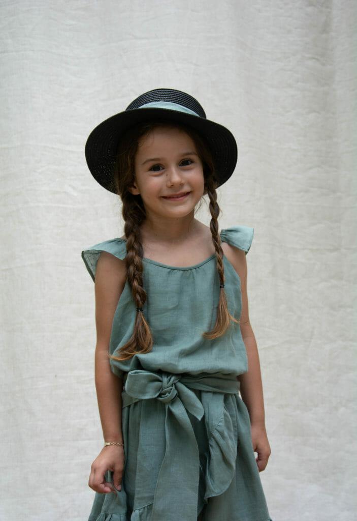 Sustainably made with Fair Trade practises Kokori kids fashion