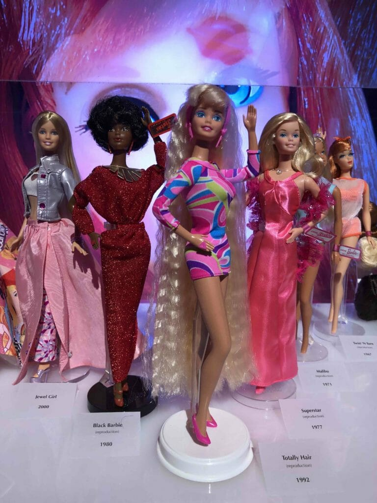 From the 1960's to 2000 the history of Barbie who celebrates the 60th anniversary of her launch on March 9th 1959 at a New York toy fair