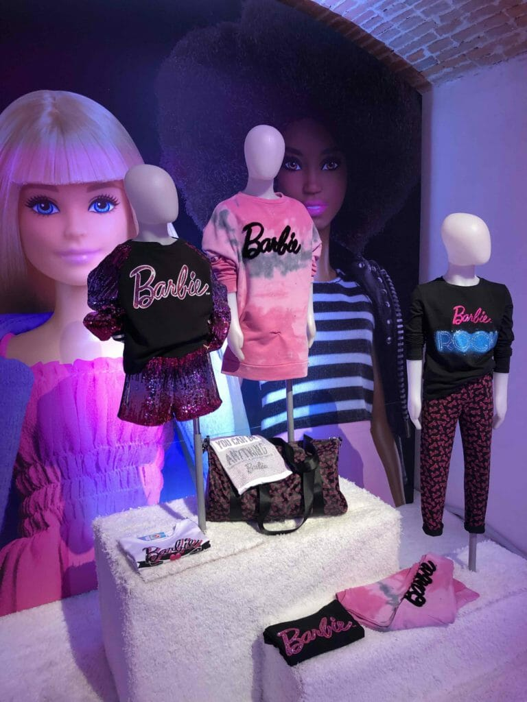 The new Barbie girls fashion collection from Patricia Pepe