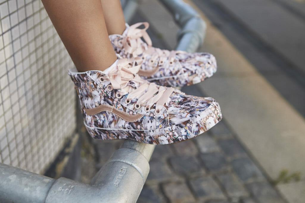 The Best in Show print Vans/Molo kids shoes