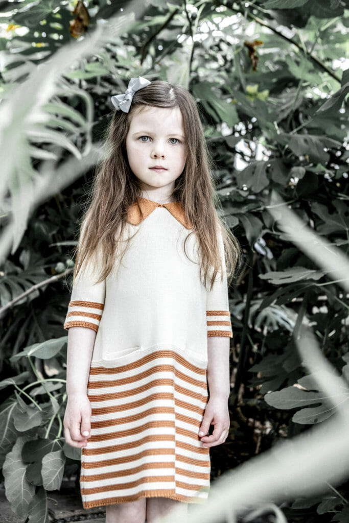 Easy to wear striped knit kids fashion by As We Grow