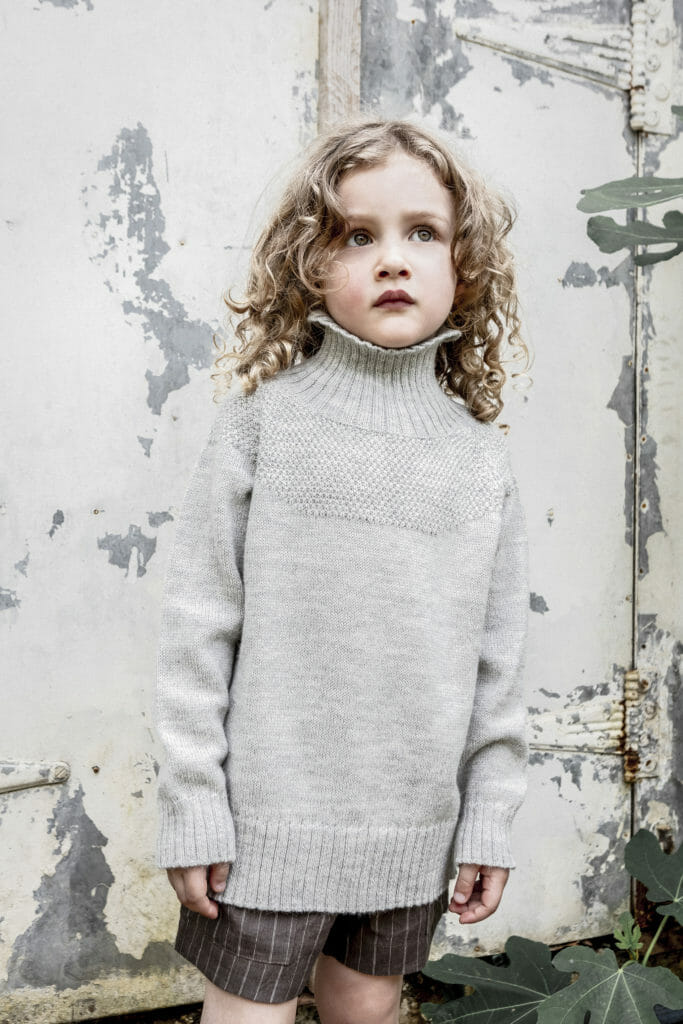 Classic sustainable kids knitwear by As We Grow for summer 2019